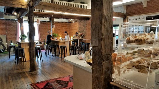 The Refinery's new interior perserves the charm of the old building while adding modern touches.