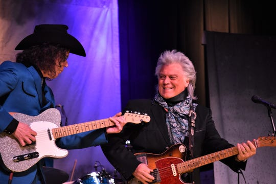 "Country-music icon Marty Stuart celebrated the 20th anniversary of his concept album ""The Pilgrim"" at Friday's Bonita Springs show. His band, The Fabulous Superlatives, included drummer Harry Stinson, guitarist Kenny Vaughan and bassist Chris Scruggs."
