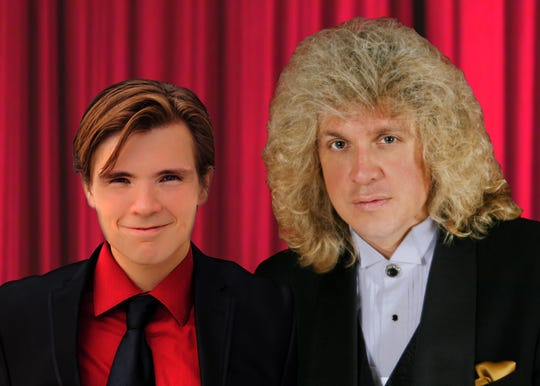 """Popular local pianist/singer Paul Todd and son Paul Todd Jr. will perform Thursday for """"Music for Hope."""""""