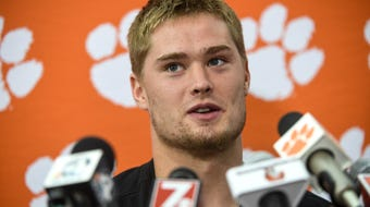 Clemson linebacker Chad Smith talks about preparing for Louisville
