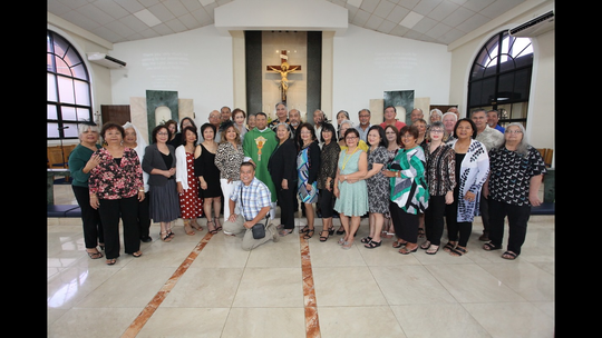 The JFK Class of 1969 celebrated Mass on Sept. 8 at St. Anthony's Catholic Church, Tamuning with Father Mike Crisostomo who officiated the Mass.