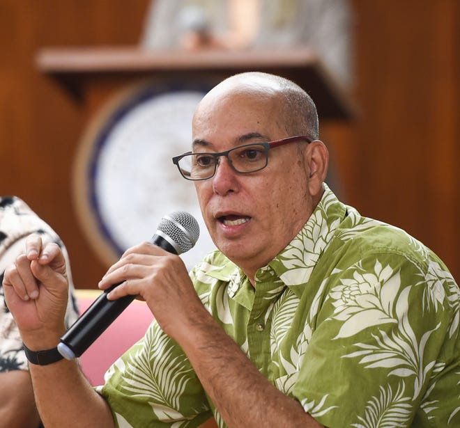 Guam Department of Labor Director David Dell'Isola is shown in this PDN file photo from 2019.