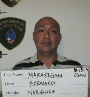 Bernard Marasigan is charged with one count of terrorizing as a third degree felony, one count of family violence as a third degree felony, a special allegation of commission of a felony while on felony release and one count of assault.