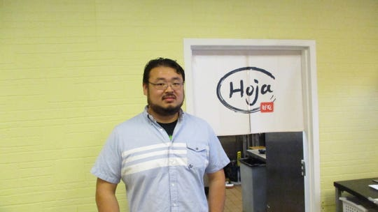Store owner, Richard Chia, plans to open his ramen restaurant Hoja in the Old Capitol Mall where I Love Pho used to be.