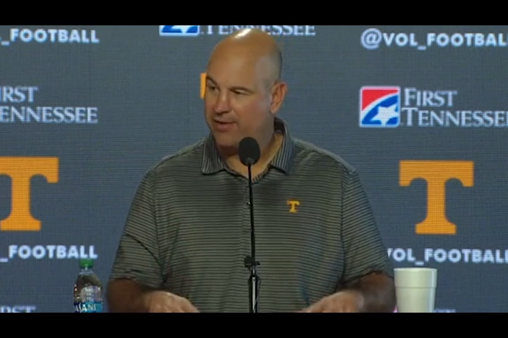 Jeremy Pruitt: We've got to be more consistent