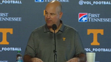 Tennessee head coach Jeremy Pruitt previews the Vols' upcoming game against Alabama.
