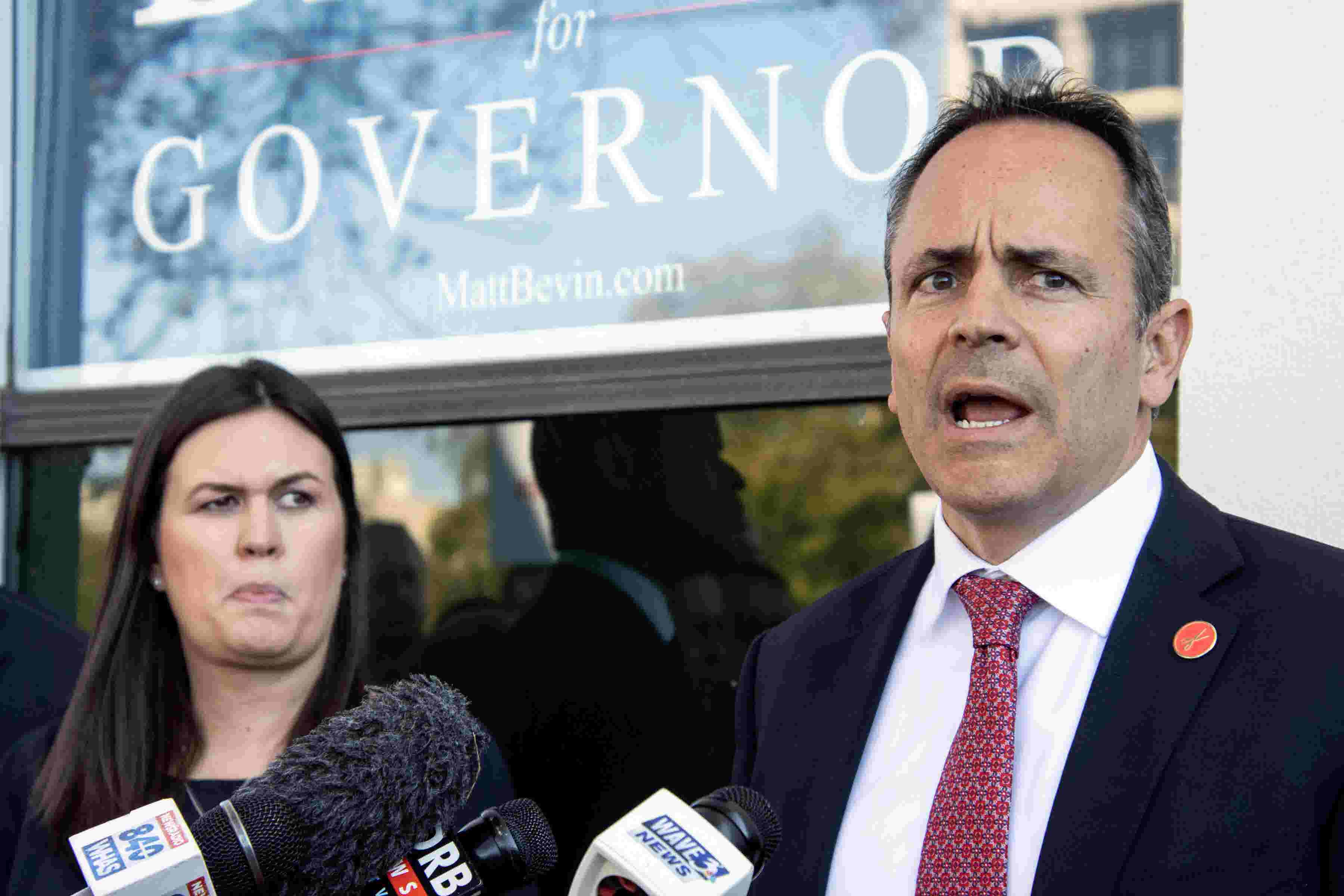 Mason-Dixon poll: Matt Bevin and Andy Beshear tied in race for Kentucky's governor