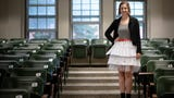 MSU Ph.D. candidate Caitlin Kirby defended her dissertation wearing a skirt she made of rejection letters.