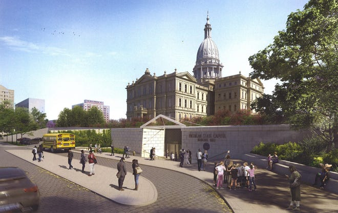 On Monday, Oct. 14, 2019, the Michigan State Capitol Commission agreed to move forward with a scaled-down, $40 million version of Heritage Hall.