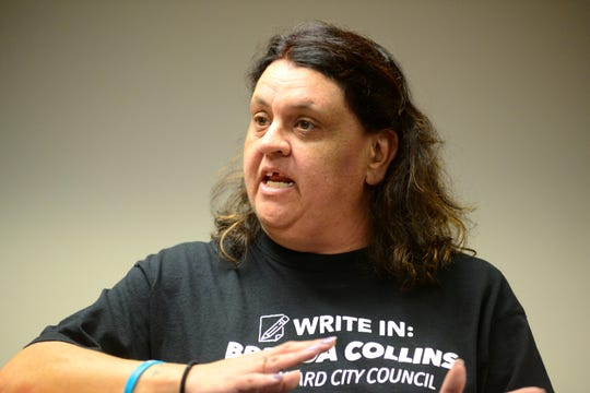 Brenda Collins-Vaughn is a write-in candidate for Mansfield City Council's Fourth Ward seat.