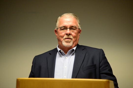 Mansfield City Council president Phil Scott, shown here at a candidate forum hosted by Mansfield NAACP, is running for an at-large council seat.