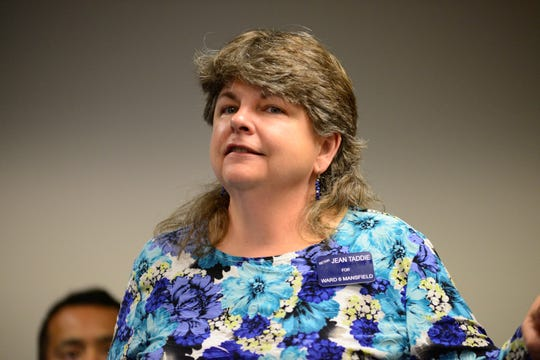 Jean Taddie, a Democrat, is running for a full four-year term as Mansfield City Council's Sixth Ward council representative.