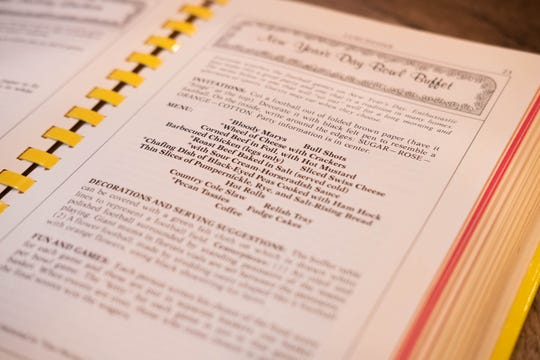 """Party Potpourri,"" the Junior League of Memphis' cookbook, features both recipes and sample menus for events."