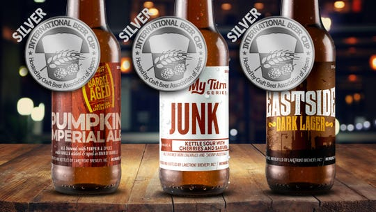Lakefront Brewery recently won three silver medals at the International Beer Cup in Japan.