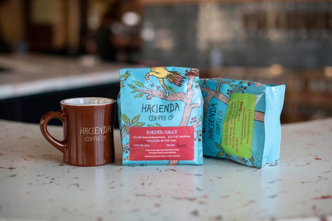 Hacienda Beer Co., has a sidebar called Hacienda Coffee Co., and it's available now.