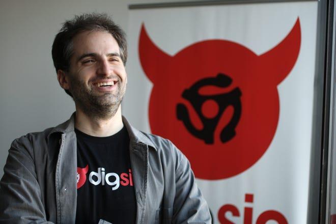 Jay Frank, CEO of Digsin, 47.