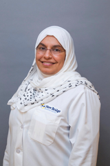 Naglaa Rizk, M.D., is the medical director of Bergen New Bridge's Ambulatory Services. Her clinical specialties include endometriosis, pediatric gynecology, pelvic and vulvar pain disorders, and female sexual dysfunction.