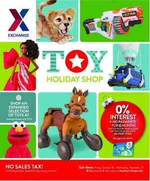 The Exchange's 2019 toy book launches Oct. 18 and it's the ultimate guide to holiday shopping and savings for military brats this holiday season.