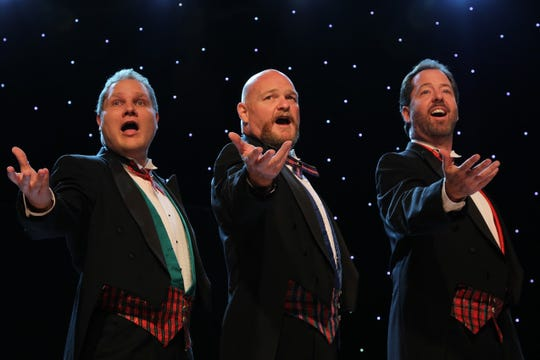 The 3 Redneck Tenors perform Oct. 22 at the Farmington Civic Center as part of the Music and Comedy Series.