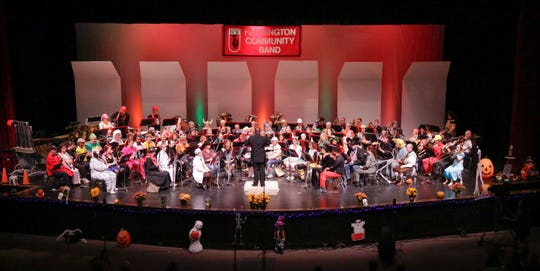 The Farmington Community Band is putting on a spooky concert.