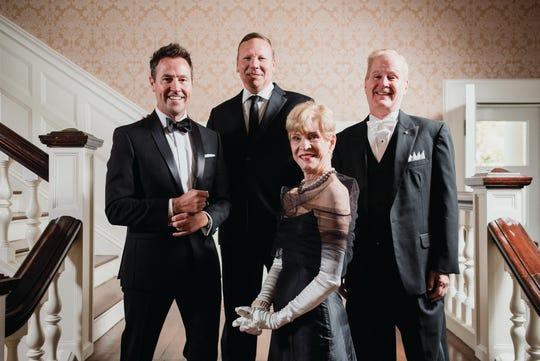 Council on Aging's Rat Pack 2019 includes Ashton Hayward, Michael Murdoch, Michael Riesberg and Brenda Vigodsky.