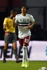 José Macías, jugador de México.