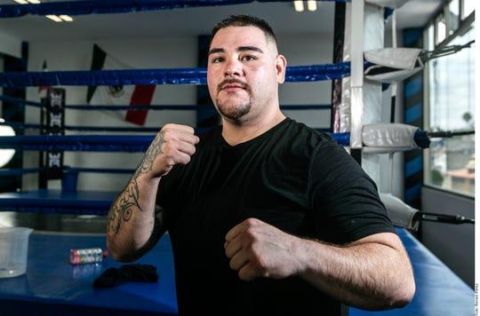 Andy Ruiz Jr., campeón mundial peso completo.