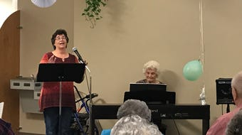 A San Angelo woman recently turned 100 years old on Oct. 13, 2019. Here's her piano performance from Oct. 14, 2019.
