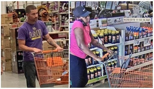 Shreveport Police Seek Ids Of Home Depot Theft Suspects