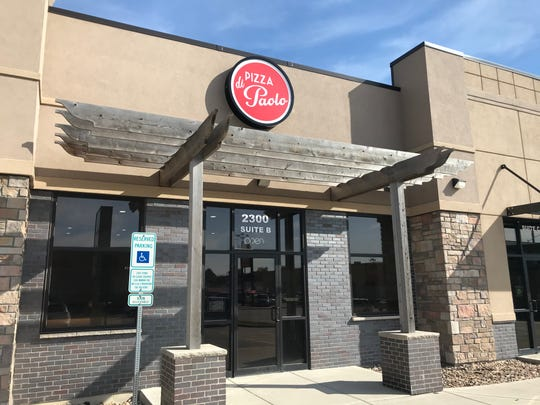 Pizza di Paolo opened Monday in a shopping center at 2300 S. Minnesota Ave.