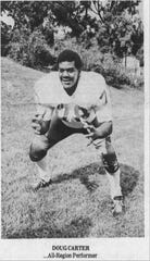 Doug Carter was a star football player at Lee High.