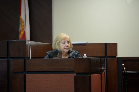 Dan Markel's mother Ruth Markel gives her victim impact statement to the jury during sentencing for Sigfredo Garcia who was convicted of the 2014 murder of Dan Markel Monday, Oct. 14, 2019.