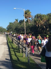 The 2019 Walk To Remember on Nov. 9 will be at Vero Beach's Riverside Park, where this photo was taken in 2018.