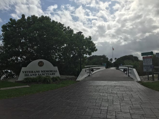 Repairs to the Veterans Memorial Island Sanctuary should begin after January.