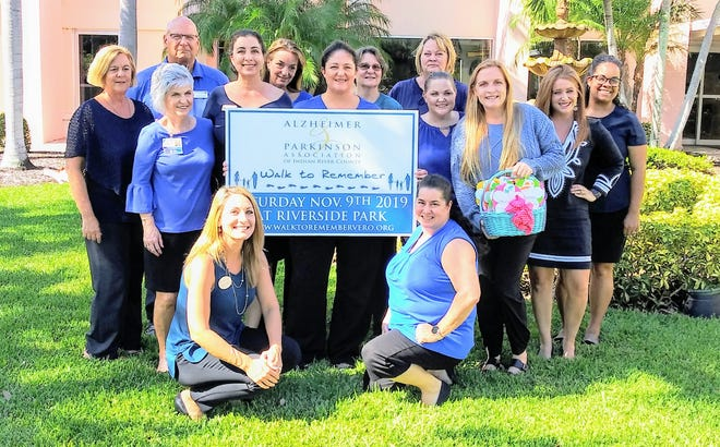 2019 Walk to Remember Volunteer Committee, from left, standing, Marilyn Pascale, Mary Fahey, Dave Zansitis, Janean Barrows, Kim Sviban, Tiffany Tripson, Debra Kornatowski, Amy Lore, Angela Bosman, Emily Wilcox, Erica Vezza and Tanilya Martin, with Elizabeth White and Nicole Greer, kneeling.