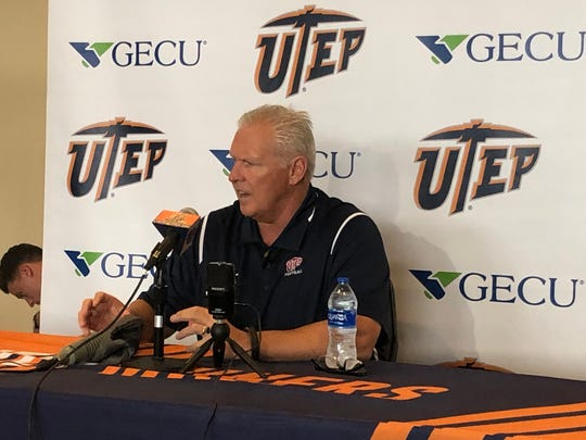 Dana Dimel discusses UTEP's upcoming game with Florida International