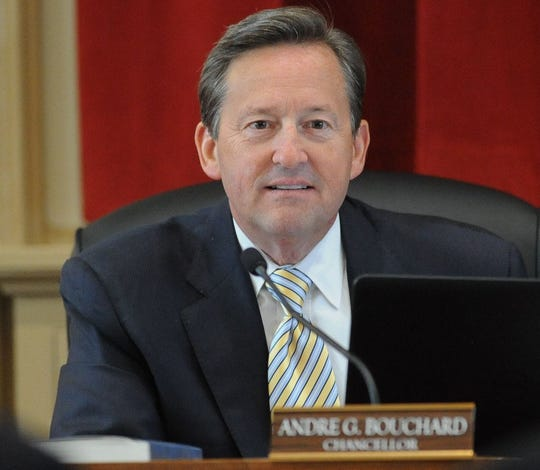 Chancellor Andre Bouchard of the Delaware Court of Chancery in 2016.