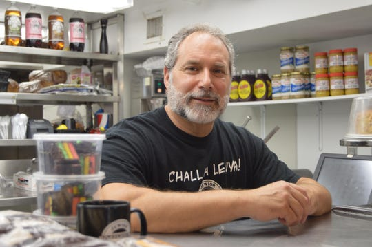 Warren Rosenfeld, owner of Rosenfeld's Jewish Delicatessen in May 2017. Rosenfeld is teaming for new sites with the Big Fish Restaurant Group. They plan to open a location in Wilmington in 8 to 10 months.