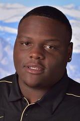 Colorado defensive lineman and Hirschi graduate Lloyd Murray