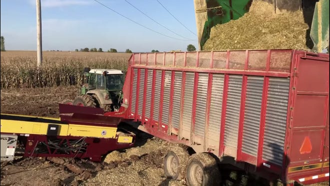 Farmers have been battling wet field conditions since last fall, making the process of getting crops in and out of the fields a struggle.