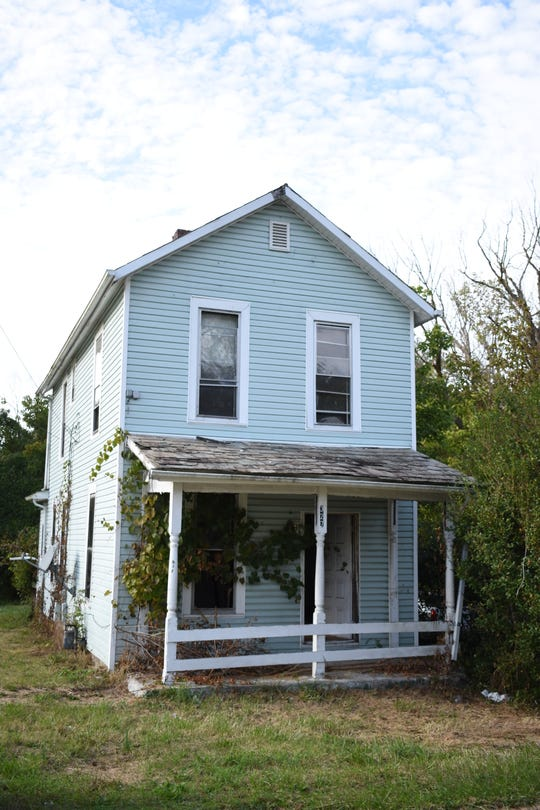 Two property parcels, which include this house at 327 Clark St. will go up for auction at the auditor's sale. Combined acreage with this property is .329, and the forfeiture amount is $12,354.98
