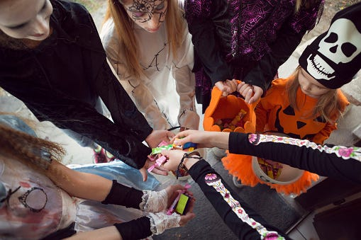 The city in Virginia that banned trick-or-treating for teens last Halloween has changed its law. Still, we say leave the teens alone. If they are being respectful, they aren't causing any harm.