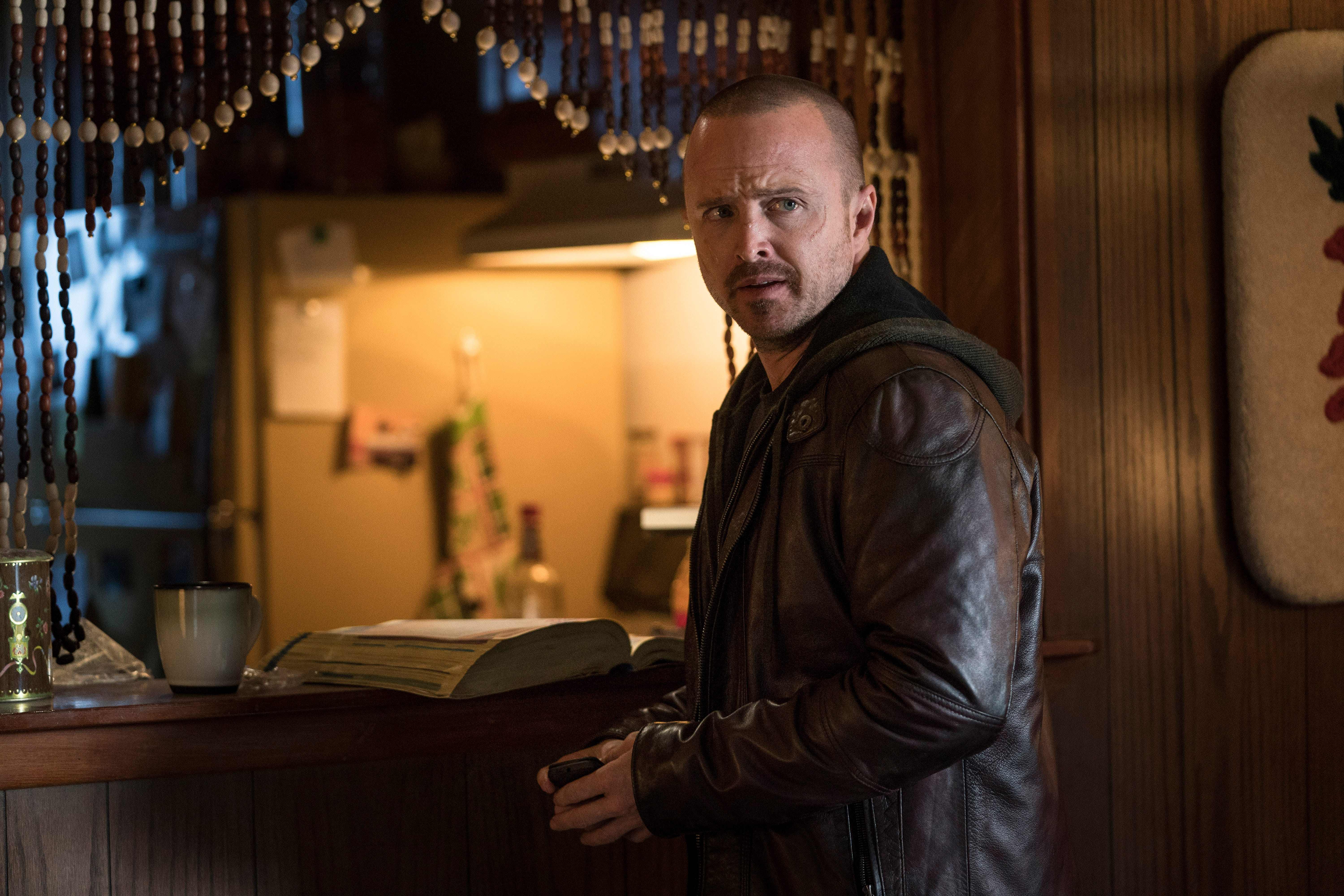 Aaron Paul improvised Jesse s iconic  Breaking Bad  line in movie sequel  El Camino