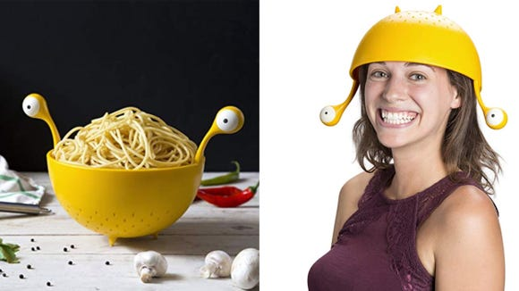 Best unique gifts 2019: Spaghetti Monster Colander Strainer