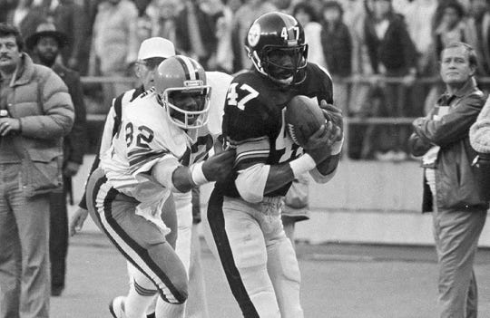 Mel Blount was a four-time Super Bowl champion, the 1975 AP Defensive Player of Year and a five-time Pro Bowler
