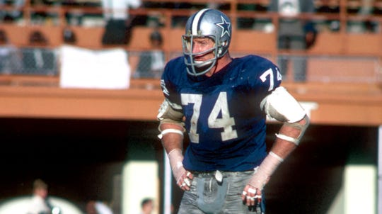 Bob Lilly won a Super Bowl, was named a First Team All-Pro seven times and played in 11 Pro Bowls.