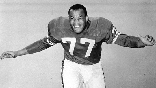 Jim Parker was a two-time NFL champion, a nine-time First Team All-Pro and an eight-time Pro Bowler.