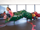 """<strong>SFO and Kids</strong><br /> There is a wide variety of services and facilities for <a href=""""https://www.flysfo.com/services-amenities/traveling-with-kids"""">families traveling with children through SFO Airport, </a>including play areas (Kids&rsquo; Spots) and Nursing Rooms in Terminals 1, 2 and 3.<br /> <br /> Kids may also enjoy riding the AirTrain between terminals, visiting the SFO Museum exhibits scattered throughout the airport, the Aviation Museum &amp; Library and the <a href=""""https://www.sfomuseum.org/programs/video-arts"""">Video Arts gallery</a>. Many restaurants offer kids menus as well."""