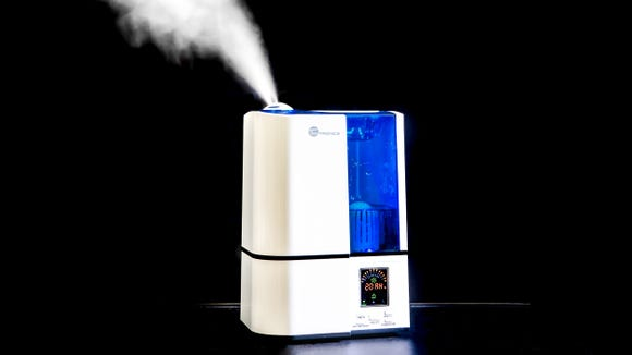 You can choose from three different mist levels when using the TaoTronics Cool Mist Humidifier.