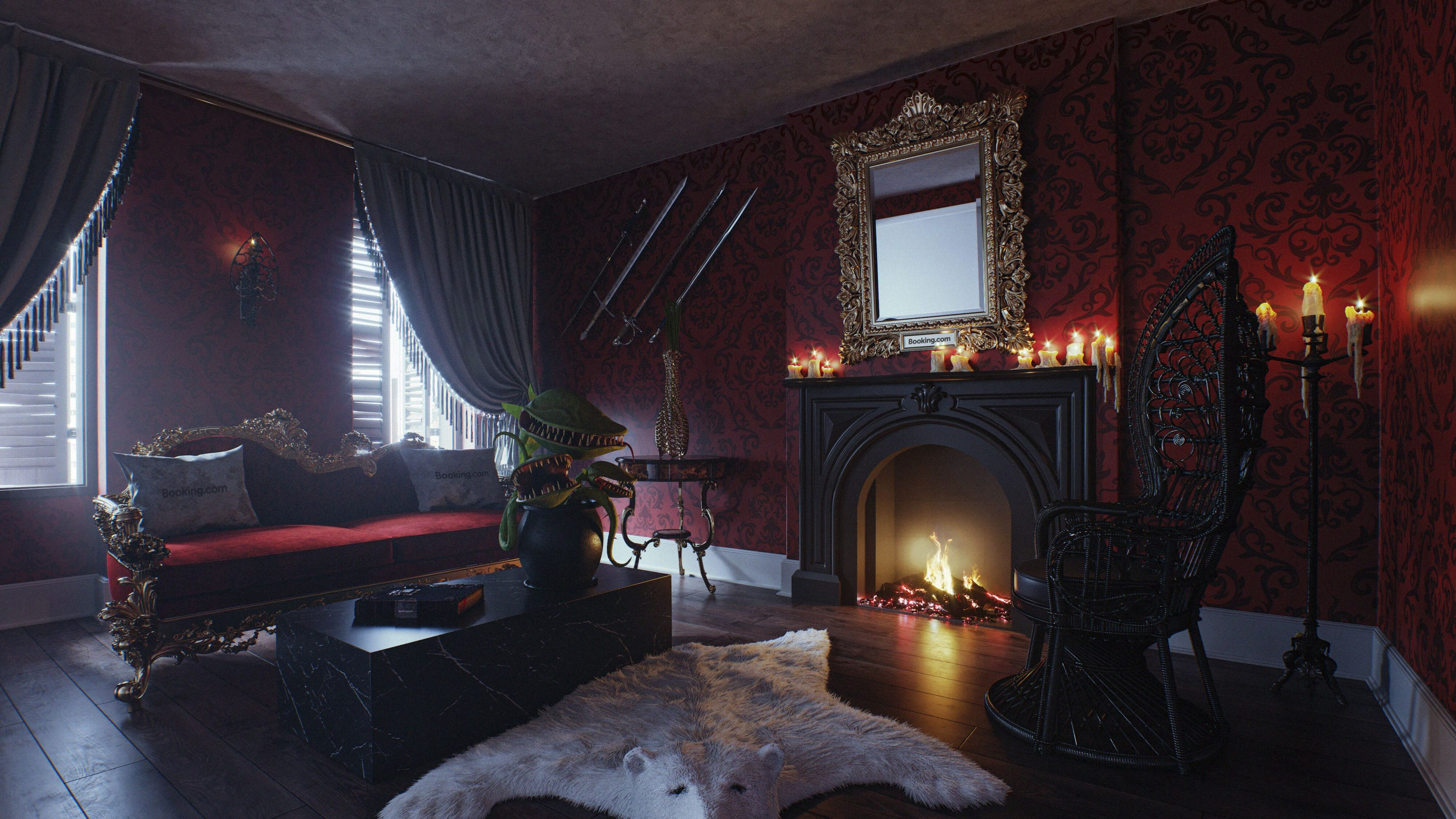 Booking Com Opens Addams Family Mansion To Guests For Limited Time